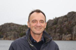 Nordic Halibut CEO Edvard Henden smiling