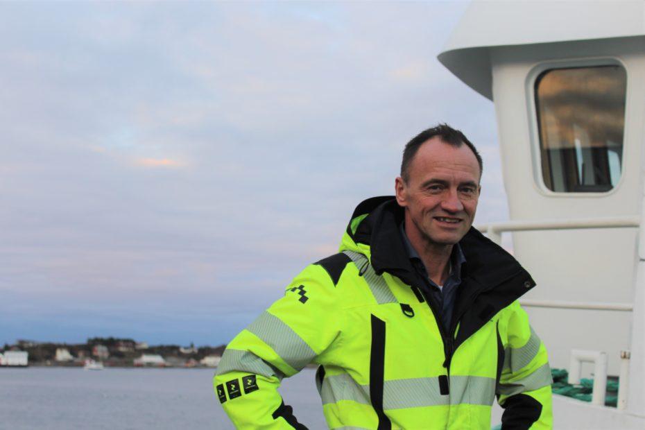Edvard Henden, Nordic Halibut CEO smiling at the camera