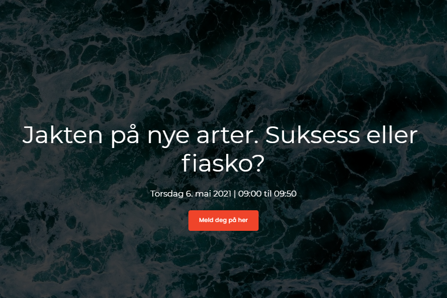 SjømatPulsen webinar om nye arter