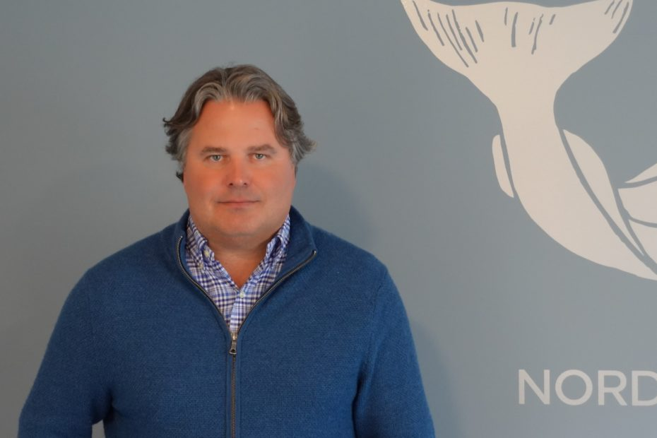 Atle Jacobsen, CCO of Nordic Halibut looking straight at the camera
